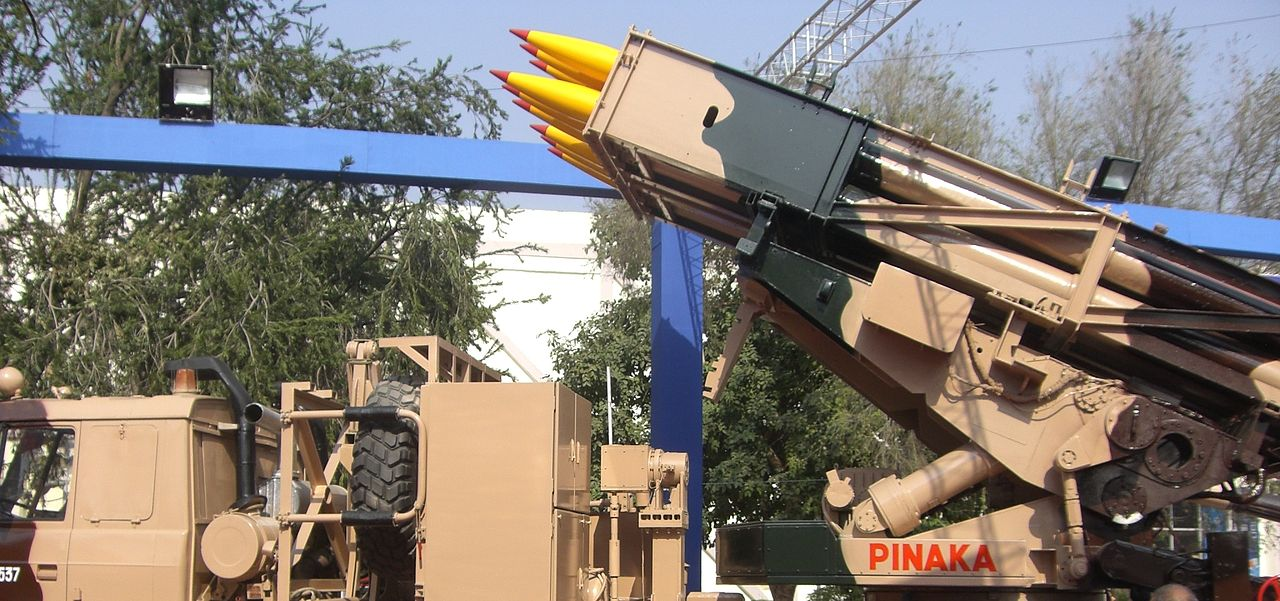 Pinaka rockets manufactured by OFAJ