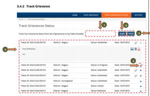Track Grievance maharastra