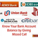 Missed Call Banking Numbers of All Banks