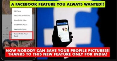 facebook new update fro image security