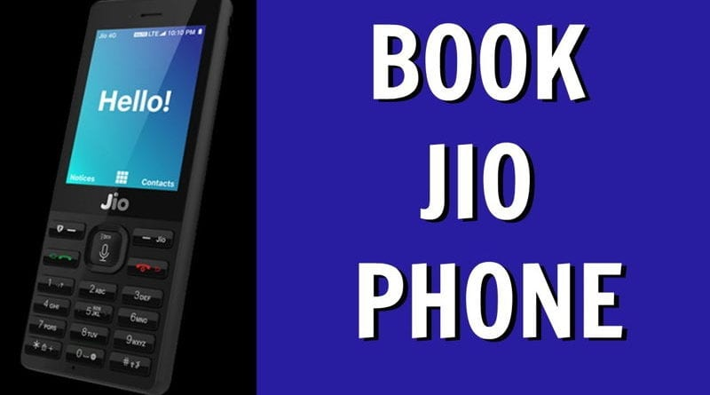 Jio Mobile 1500 Booking Online