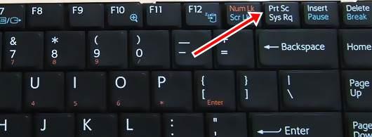 Taking Screenshots in PC/Laptop